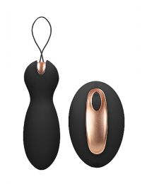 Dual Vibrating Toy - Purity - Black by elegance