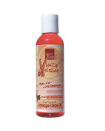 Nature Body UnZip N´Slide massage Vanilla/Strawberry