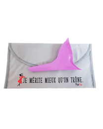 Pipi-Up violet - urinoir féminin