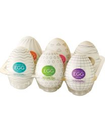 TENGA Set of 6 different EGGs